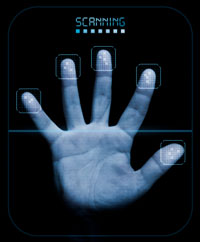 Fingerprint and and scanner